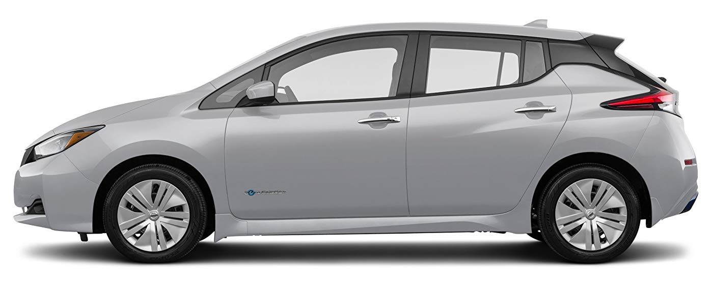 2018 nissan leaf s sideview