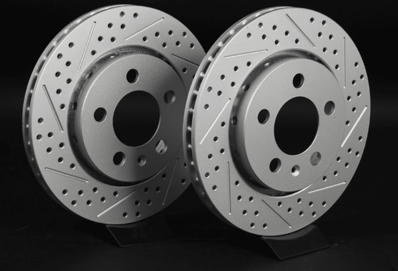 drilled slotted rotors